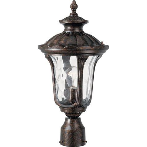 volume lighting  light vintage bronze outdoor post light