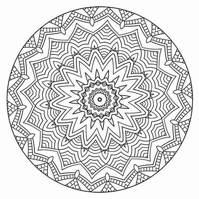 Coloring Mandalas Calm Volume Mandala Finished