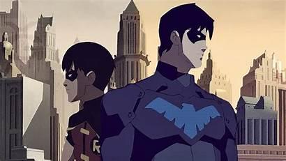 Nightwing Wallpapers Background Robin Desktop Comics Phone