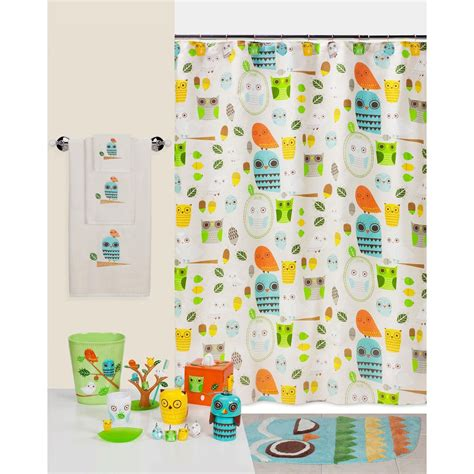 Owl Bathroom Set At Walmart by Bathroom Unique Bathroom Accessories Design With Owl