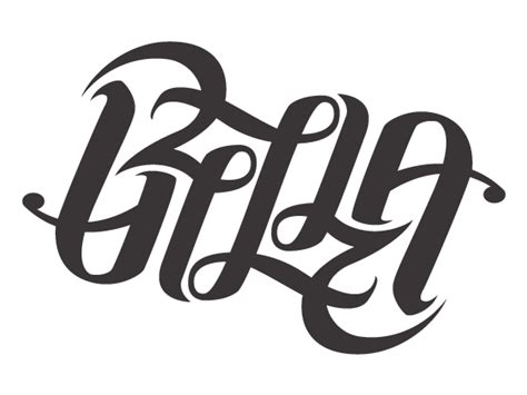 ambigrams  necklaces  tattoo  typography served