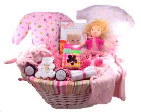 Newborn Baby Girl Gift Basket