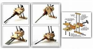 Chisel and Plane Iron Sharpening Jig Plans • WoodArchivist