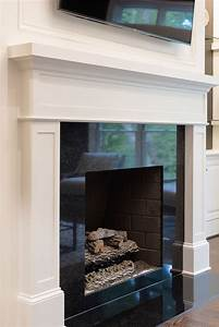 Black, Fireplace, Surround, In, 2020