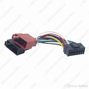 2020 Wholesale Car Radio Cd  Dvd Stereo Iso Wiring Harness
