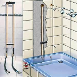 Kit De Douche : kit raccordement sans soudure pour douche salle de bains ~ Melissatoandfro.com Idées de Décoration