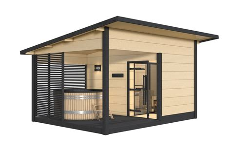 sauna exterieur poele bois sauna exterieur poele bois maison design hosnya