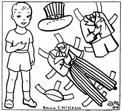 Uncle Sam Coloring Paper Pages Cartoon Mckean