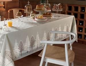 Nappe Pour Table : nappe fantaisie villard de lans linvosges ~ Teatrodelosmanantiales.com Idées de Décoration