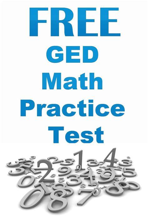 Free Ged Math Practice Test Httpwwwmometrixcom