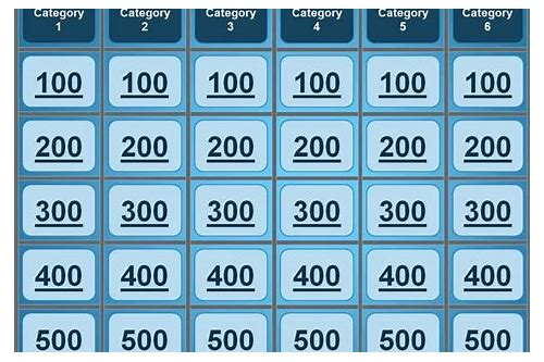 Bible jeopardy powerpoint download :: congquararo