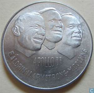 Canada Apollo 11 Mission 1969 - Commemorative tokens ...