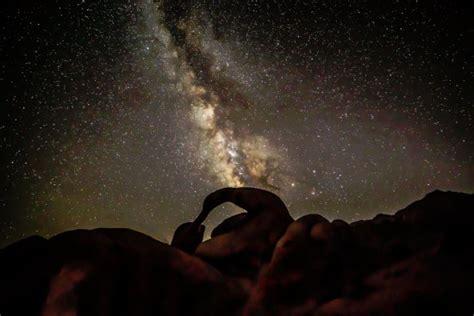 Milky Way Over Mobius Arch Alabama Hills California