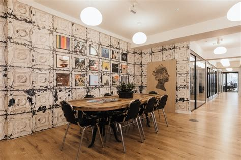 wework coworking offices  oktra london uk