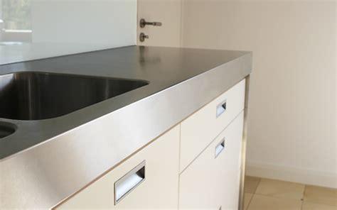 Kuchenarbeitsplatte Edelstahl kuchenarbeitsplatte edelstahl optik
