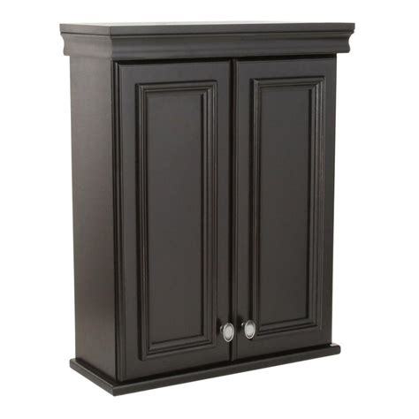 home depot wall cabinets elegant home fashions cape cod 22 5 in w wall cabinet