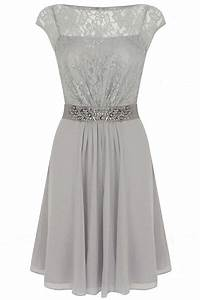 28 best images about spring dresses on pinterest pleated for Grey wedding guest dress