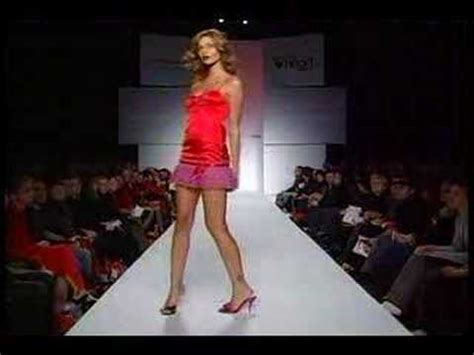 red dress collection  fashion show youtube