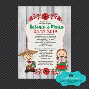 wedding programs templates mexican traditional wedding invitations invitaciones de