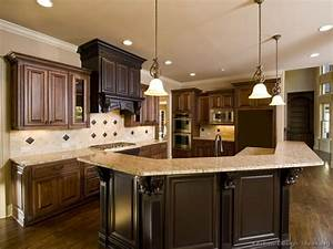 pictures of kitchens traditional two tone 02 763