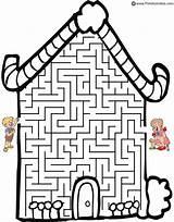 Clipart Bears Three Goldilocks Activities Clip Library Hansel Gretel sketch template