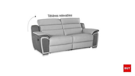 canape but relax canapé 3 places relax électrique but