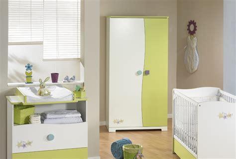 chambre de bb chambre bebe design blanche et verte photo 2 10 beau