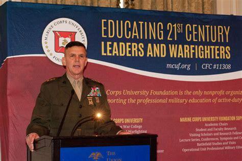 russell leadership award marine corps university