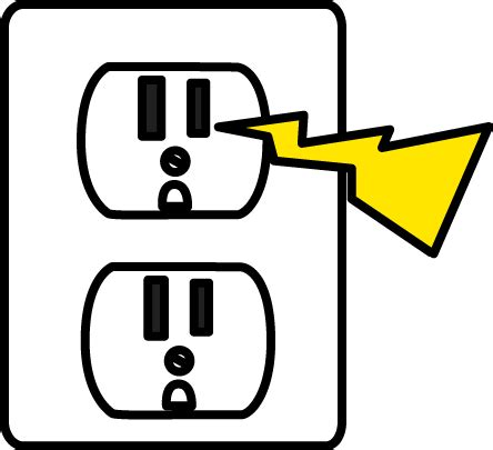 zap clipart black and white electricity clip cliparts