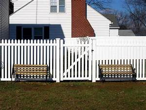 Famous Picket Fence Gate — Home Ideas Collection : How To