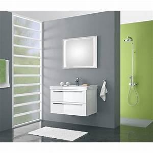 Meuble Salle De Bain 90 : meuble de salle de bain pelipal cubic de 90 cm blanc blok cubic 3 2 pg2 ~ Teatrodelosmanantiales.com Idées de Décoration