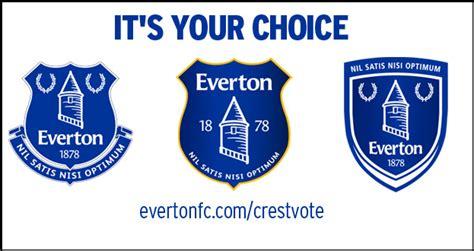 Snapshot: Everton Reveal Three Potential New Crest Designs ...
