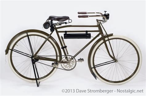 1918 Harley Davidson Bicycle>>> The Rider Of This Bike