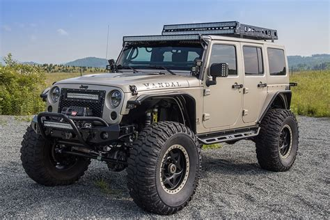 jeep wrangler custom 2015 custom wrangler unlimited rubicon project vandal