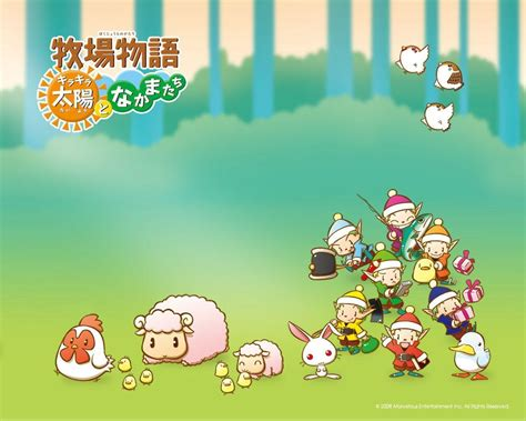 Harvest Moon Animal Parade Wallpaper - harvest moon wallpapers wallpaper cave