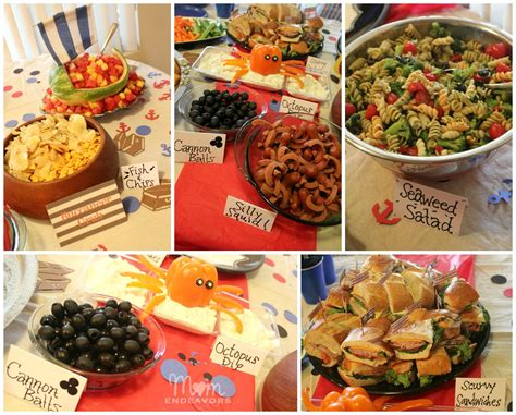 cuisine pirate pirate birthday treats jake and the never land