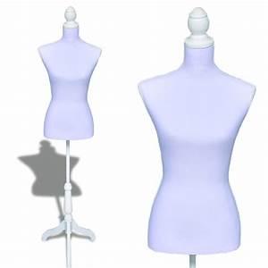 Buste Porte Vetement : acheter buste de couture mannequin femme blanc pas cher ~ Teatrodelosmanantiales.com Idées de Décoration