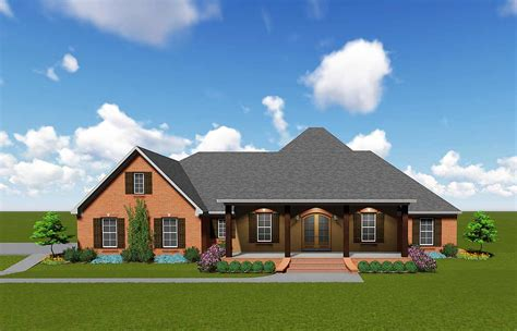 The best house floor plans. Sprawling Southern House Plan - 83868JW | Architectural Designs - House Plans