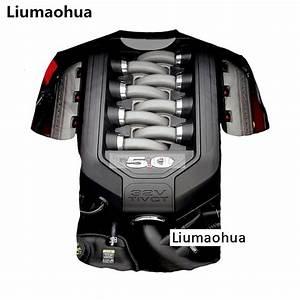 Liumaohua New Supercar Ford Mustang 5 0l V8 Engine Power