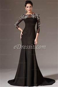 nouvelle robe de soiree pour l39hiver edressit nouveate With les robes de soirée
