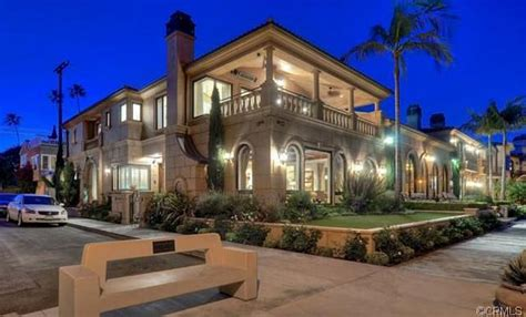 million mediterranean waterfront mansion  long