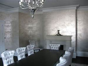 25 best ideas about metallic wallpaper on pinterest With markise balkon mit tapete creme gold