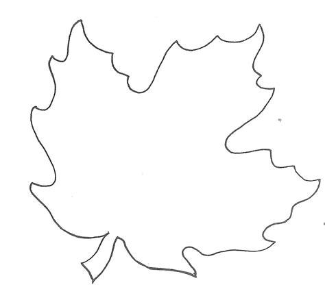 maple leaf stencil printable clipart
