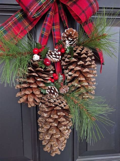 unique pine cone decorations ideas  pinterest pine