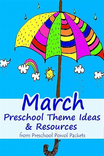 March Preschool Themes Toddlers Crafts Activities Kindergarten