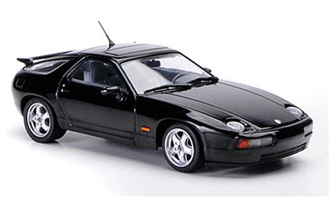 porsche model car porsche 928 1991 gts black minichs diecast model car 1