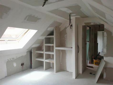 amenagement d un grenier en chambre nos réalisations caplac plâtrerie aménagement combles