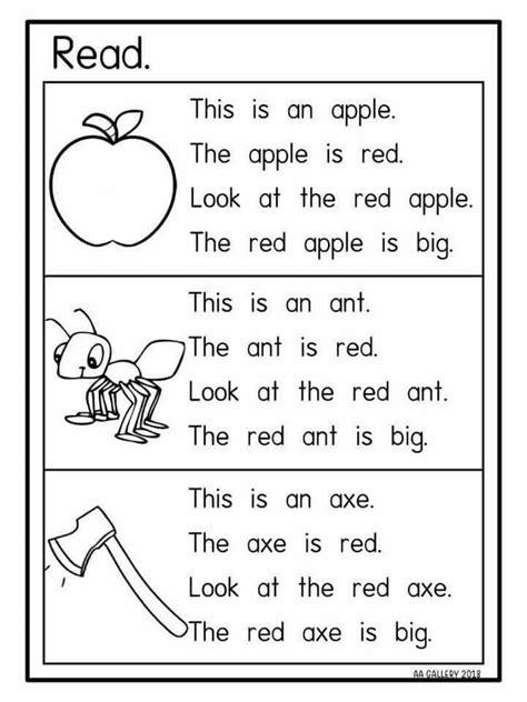 kindergarten main idea worksheets pin  lia lee  main