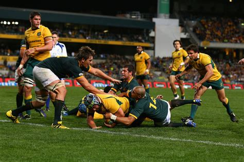 Australia V South Africa  The Rugby Championship Zimbio