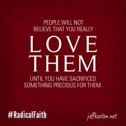 Love Means Sacrifice Quotes